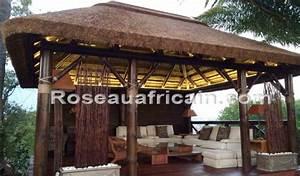Pergola paille Revêtements modernes du toit