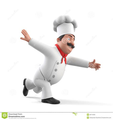 cuisine de a z chef chef de cuisine illustration stock illustration du