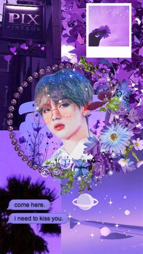 bts purple aesthetic wallpaper bts wallpaper purple