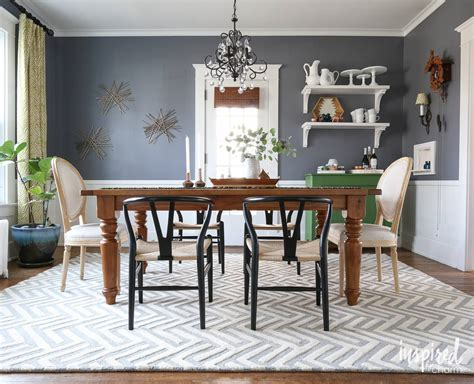 rug   dining room inspired  charm