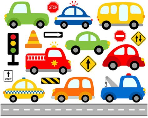 Vehicle Clipart Road Transport