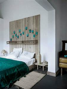 Idee De Tete De Lit : fabriquer une t te de lit en bois c 39 est simple et c 39 est chic ~ Teatrodelosmanantiales.com Idées de Décoration