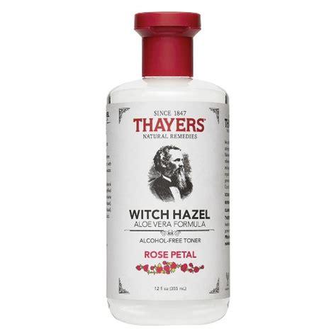thayers witch hazel free toner petal 12oz target