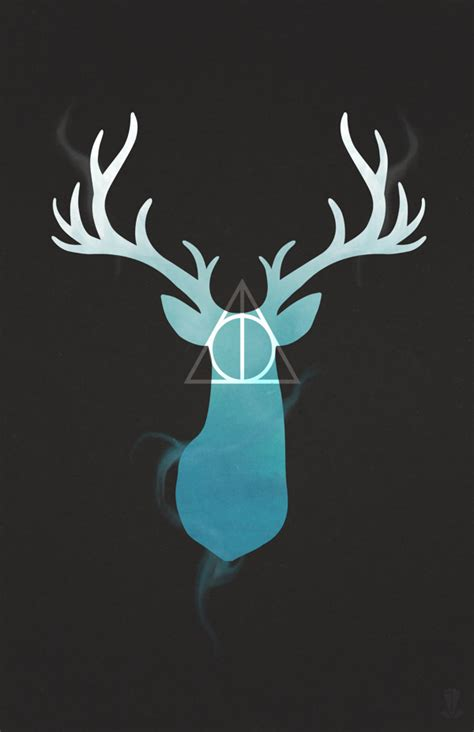 deathly hallows stag harry potter stag deathly hallows in