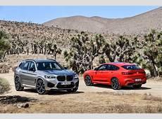 Der neue BMW X3 M und der neue BMW X4 M