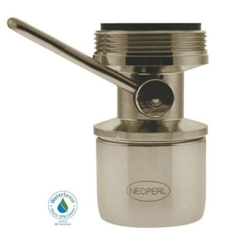 remove neoperl faucet aerator neoperl 1 5 gpm dual thread on water saving faucet