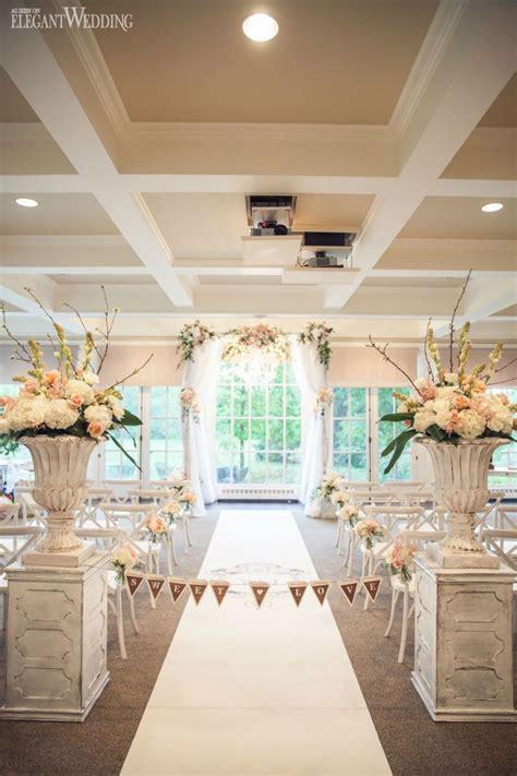 Indoor Secret Garden Wedding Elegant Wedding Indoor