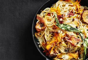 Pasta Mit Hokkaido Kürbis : spaghetti mit k rbis pilzen und speck frisch gekocht ~ Buech-reservation.com Haus und Dekorationen