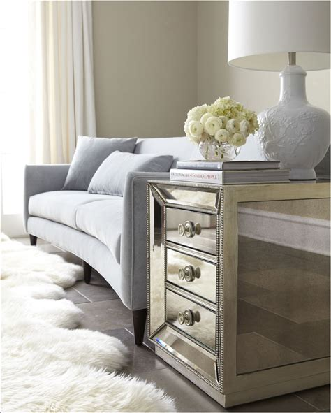 glamorous furniture glamorous mirrored furniture for your home