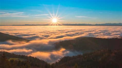 sonnenaufgang nebel landschaft kostenloses video auf pixabay