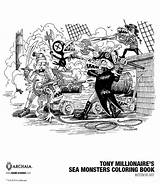Millionaire Boom Monsters Tony Exclusive Coloring Sea Getting Advertisement sketch template