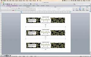 Avery Label Templates Word Edit Pint And Cut Sticker Template Editable Label Template