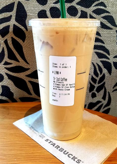 Starbucks secret menu | diy starbucks frappuccino no coffee. Iced coffee at Starbucks 😍 Make sure you ask for no classic syrup in your iced Starbucks dr ...