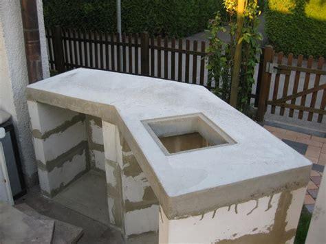 Grill Aus Beton Selber Bauen 35 fotogalerie gartenk 252 che aus stein selber bauen billig