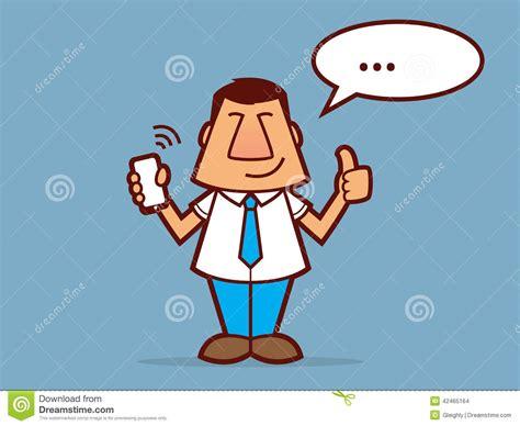 Salesman Cartoon Stock Vector