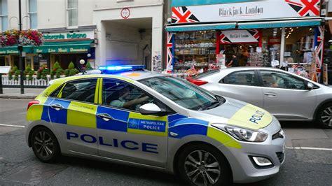 London Metropolitan Police Car (fws) Responding Near