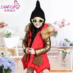 Manteau Femme Petite Taille : doudoune filles dans la longue section la petite fille hiver enfants manteau ~ Melissatoandfro.com Idées de Décoration