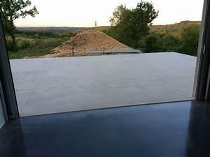 terrasse en beton lisse tt42 montrealeast With terrasse en beton lisse