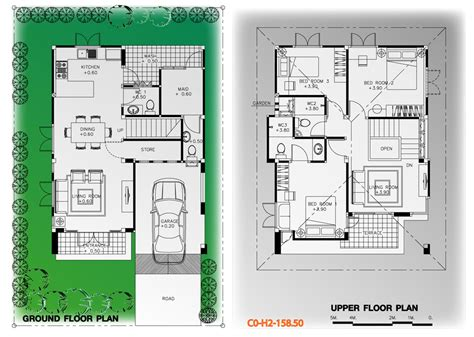 3d interior home design แปลนพ นช นล าง แปลนพ นช นบน แปลนพ น แบบบ าน 2 ช น