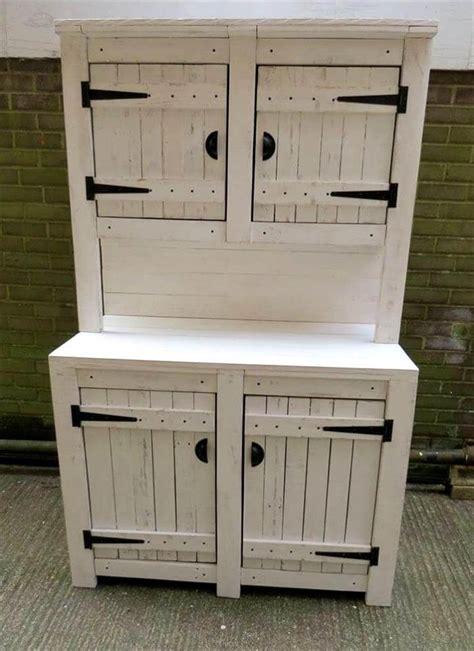pallet kitchen cabinets hutch