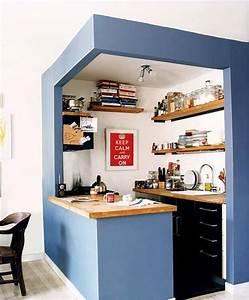 Idée Aménagement Petite Cuisine : am nagement petite cuisine le guide ultime ~ Dailycaller-alerts.com Idées de Décoration
