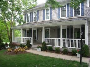 houses with porches what makes a deck or porch design fit a traditional house