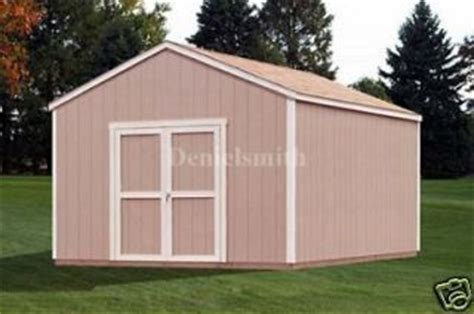 12 X 20 Wooden Storage Shed by Loren 12 X 20 Wood Shed