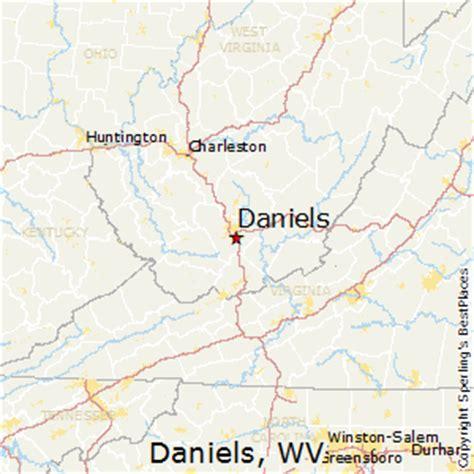 places    daniels west virginia