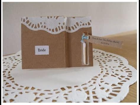 diy wedding rustic bohemian place cards tutorial youtube