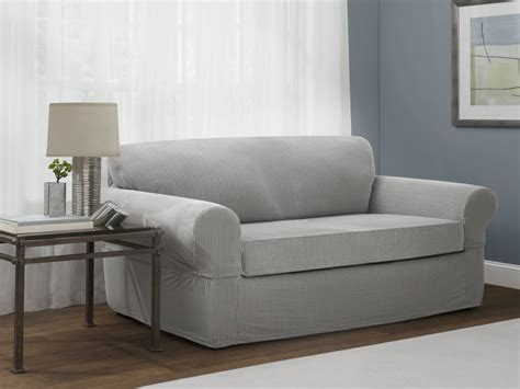 And Loveseat by Slipcovers For Sofa And Loveseat Serta Relaxed Fit Duck
