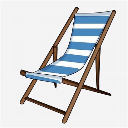 Chair Cartoon Vacation Clipart Carnival Lounge Transparent