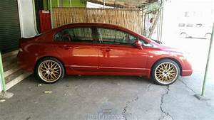 Honda Civic 2007 Manual Transmission Red For Sale