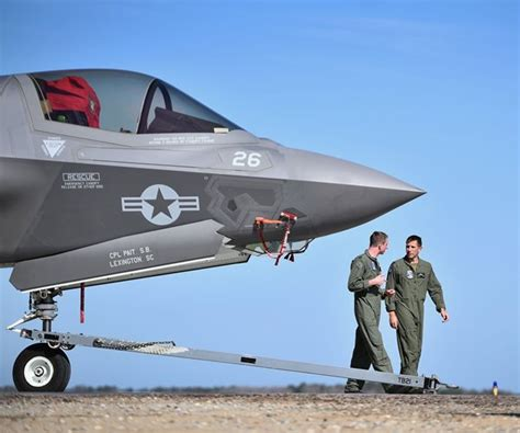 Air Force Grounds 'combat Ready' F-35s Over Coolant Line Flaws