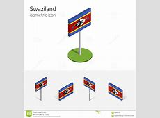 Flags Of The World, Ac, 3d Isometric Flat Icon D Vector