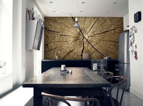 papier peint pour cuisine moderne 1001 modèles de papier peint 3d originaux et modernes