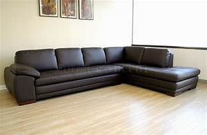 modern sectional s with chaise and brown tufted leather With sectional sofas no chaise