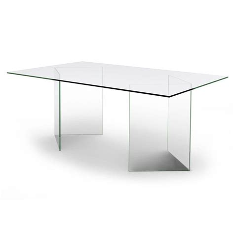 table de bureau en verre bureau transparent table de repas en verre