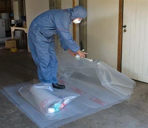 cleanup  disposal asbestos