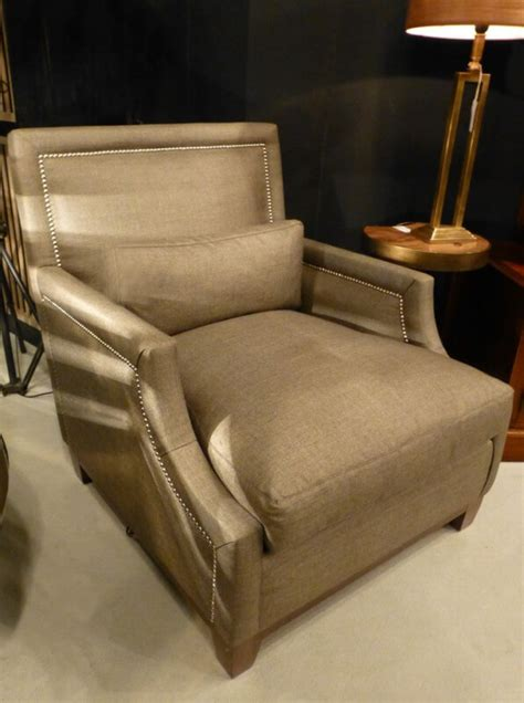 contemporary wing back chair custom upholstered