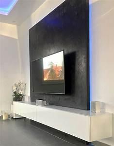 Wohnzimmer Tv Wand Ideen : pin von neziri sherif auf beton optik wohnzimmer tv wand ~ A.2002-acura-tl-radio.info Haus und Dekorationen