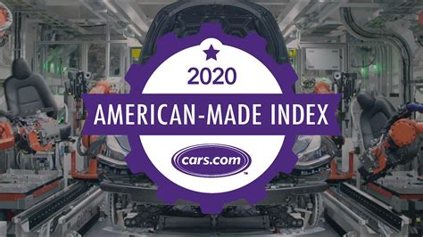 For made in usa promotions, new products and sales. Cars.com's 2020 American-Made Index Video