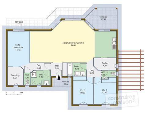 plans de maison en bois maison 224 ossature bois 1 d 233 du plan de maison 224 ossature bois 1 faire construire sa maison