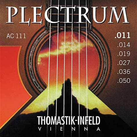 thomastik ac111 plectrum bronze acoustic guitar strings