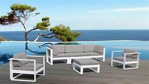 Salon De Jardin Exterieur : mobilier de jardin design nos id es pour un espace d tente en plein air ~ Teatrodelosmanantiales.com Idées de Décoration