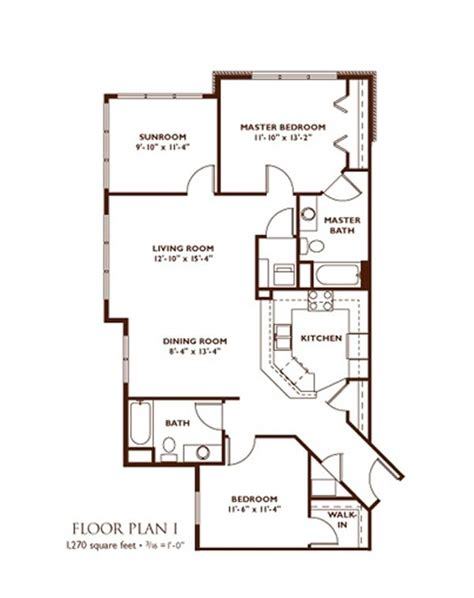 Bedroom Floor Plan by Apartment Floor Plans Nantucket Apartments