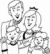 Coloring Parents Obey Pages Sheet sketch template