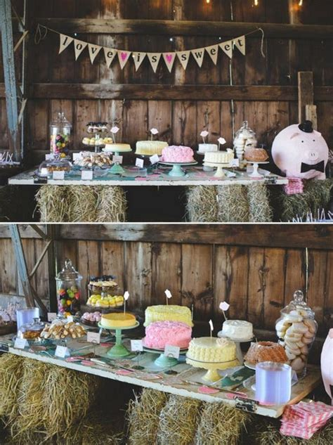 55 Amazing Wedding Dessert Tables & Displays Page 8 Hi