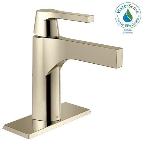 kitchen sink faucets delta delta zura single single handle bathroom faucet with 5793