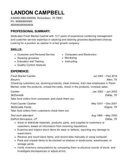 Resume Tools by Best Tool Room Attendant Resumes Resumehelp