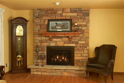 converting wood fireplace  gas fireside hearth home